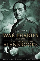 Cover of Lord Alanbrooke's War Diaries